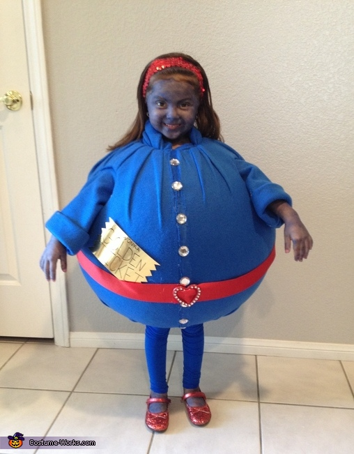 Violet the blueberry, Willy Wonka and Gang Costume