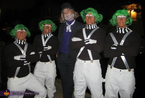Willy Wonka and his friends, Willy Wonka and Friends Group Costume