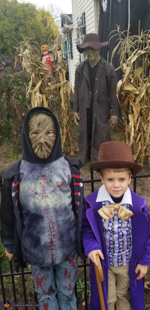 Willy Wonka and Leatherface Costume