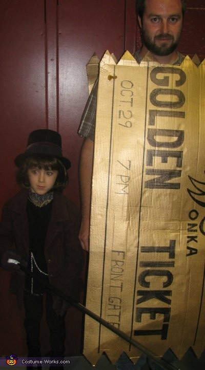 Willy Wonka and the Golden Ticket Costume
