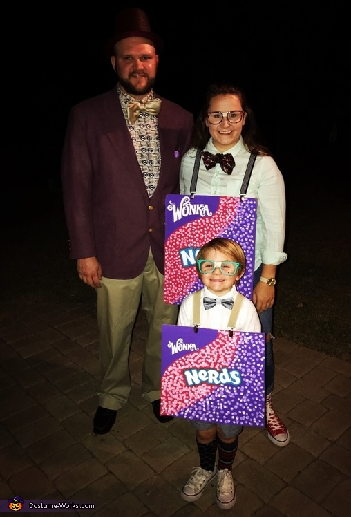 Willy Wonka and the Nerds Costume