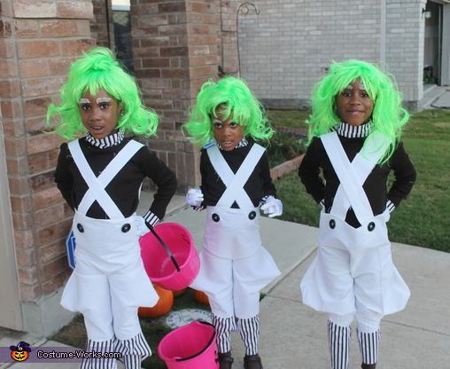 Just the Oompa Loompas, Willy Wonka and the Oompa Loompas Costume