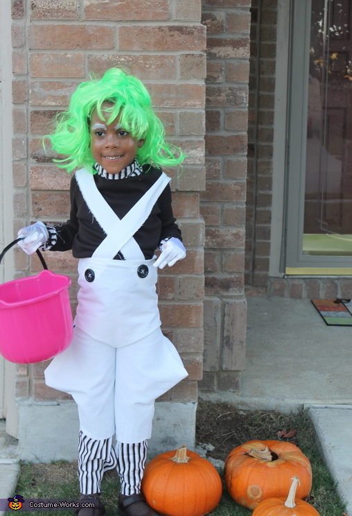 5 year old twin, Willy Wonka and the Oompa Loompas Costume