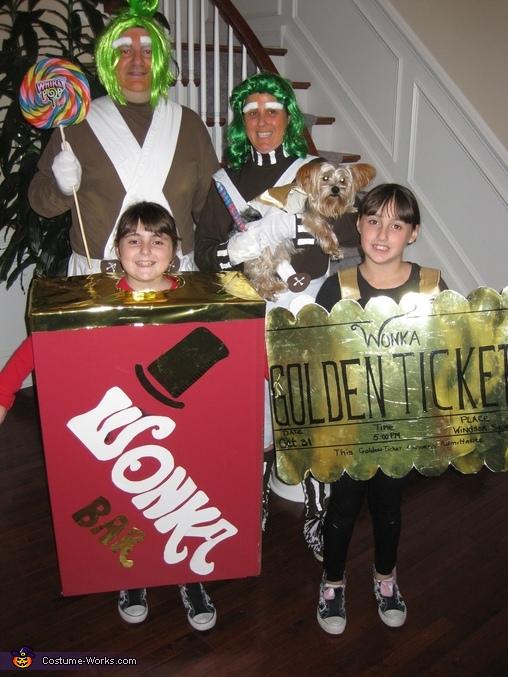 wonka family costume willy wonka family costume