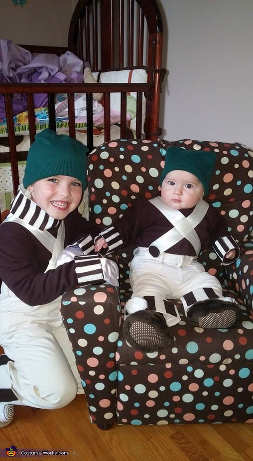 Oompa Loompas, Willy Wonka Family Costume
