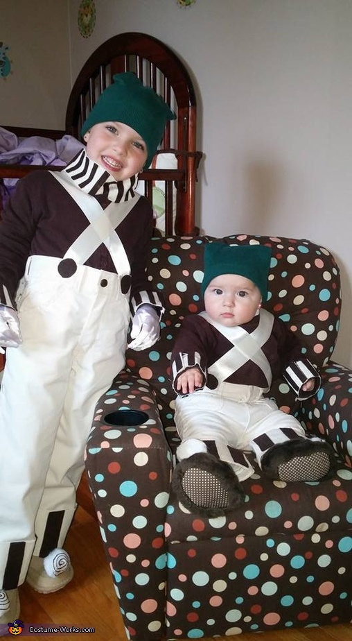 Oompa Loompas 2, Willy Wonka Family Costume