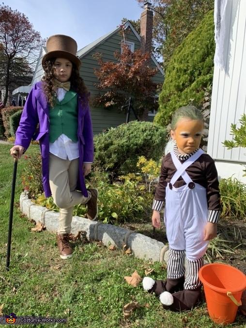 Willy Wonka & his Oompa Loompa Costume