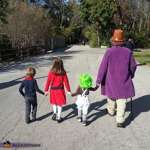 Wonka Family, Willy Wonka & The Chocolate Factory Costume