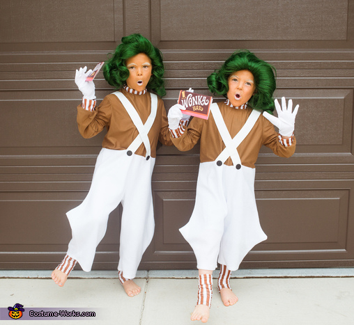 Oompa Loompas, Willy Wonka's Oompa Loompas and the GOLDEN Ticket Costume