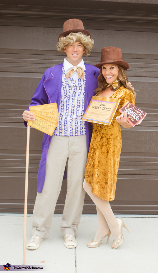 Wonka & His Golden Ticket, Willy Wonka's Oompa Loompas and the GOLDEN Ticket Costume