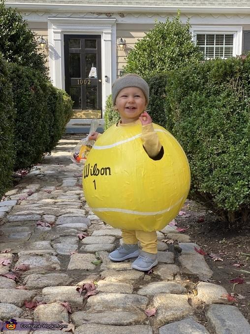 Wilson Homemade Costume