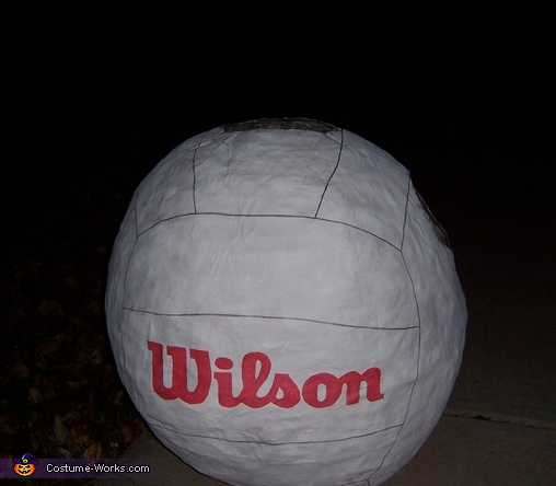 Wilson from Cast Away Costume
