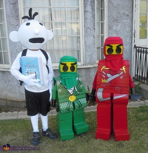 Wimpy Kid & Lego Ninjago Costume