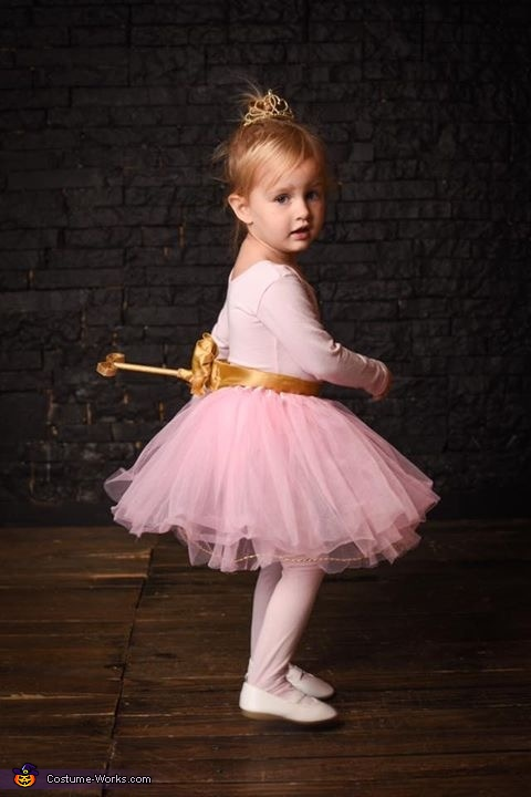 Wind-Up Ballerina Costume
