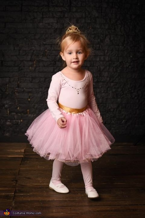 Wind-Up Ballerina Homemade Costume