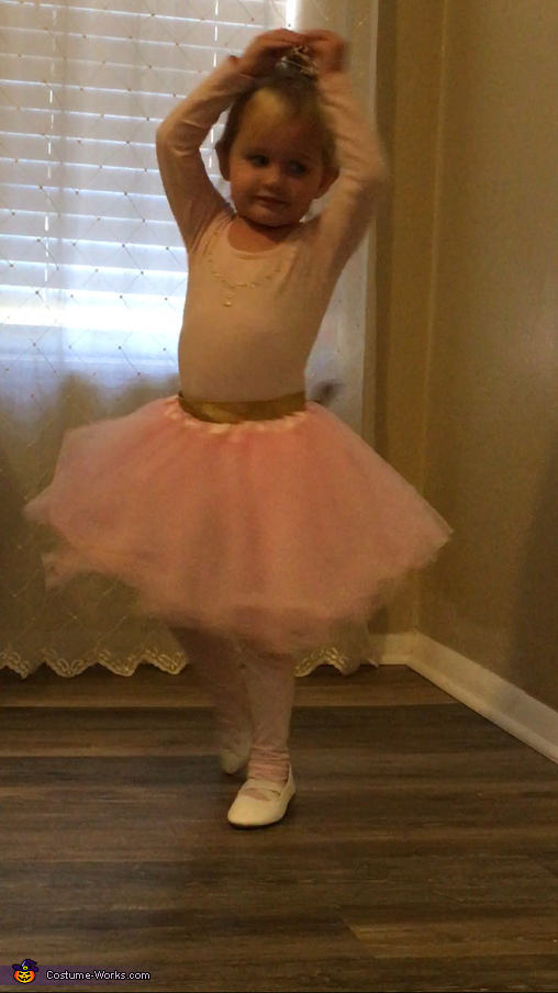 Wind-Up Ballerina Homemade Costume