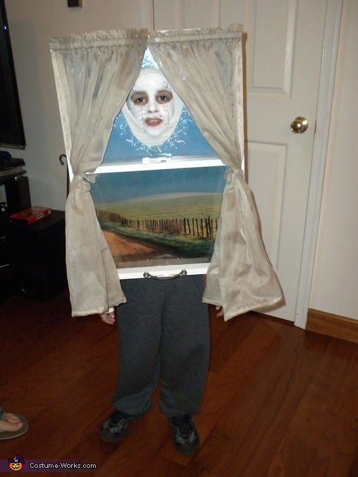 Window - Homemade costumes for kids