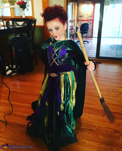 Winifred Sanderson Girl's Costume