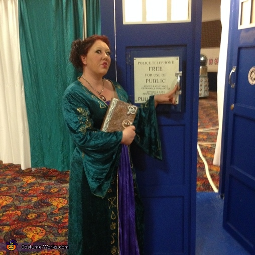 Stepping into TARDIS!, Winifred Sanderson Costume