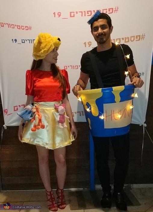 Winnie The Pooh and Honey Pot Costume