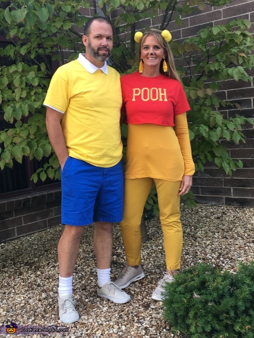ecbb8a643532 Winnie the Pooh   Christopher Robin Couple Costume