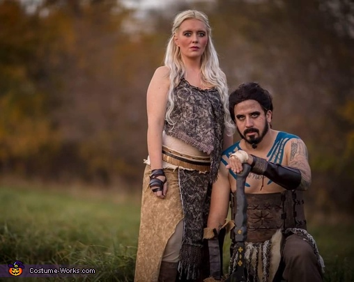 Khal and Daenerys, Winter Is Coming Costume