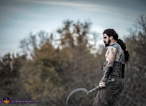 Khal Drogo, Winter Is Coming Costume