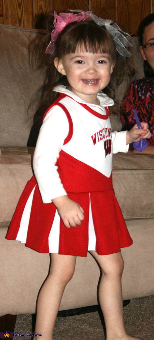 Gonna give the best smile ever, Wisconsin Cheerleader Costume