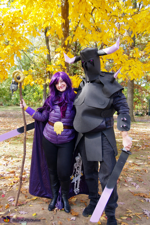 Witch and P.E.K.K.A., Clash of Clans Family Costume