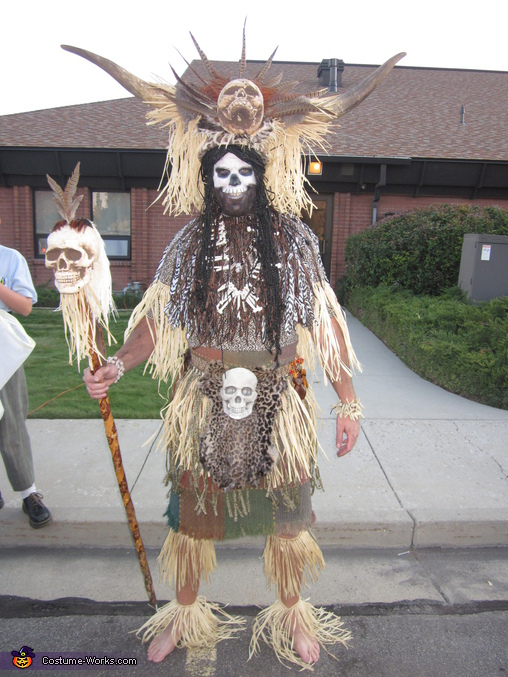 Homemade Witch Doctor Costume