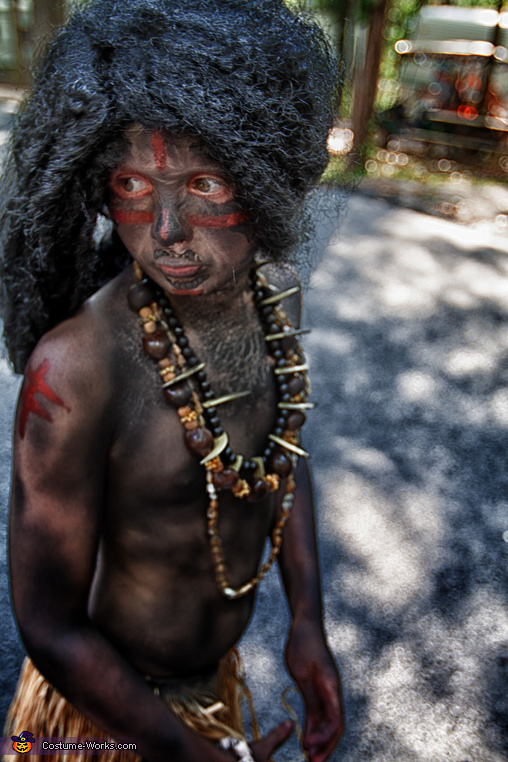 Witch Doctor Boy's Costume