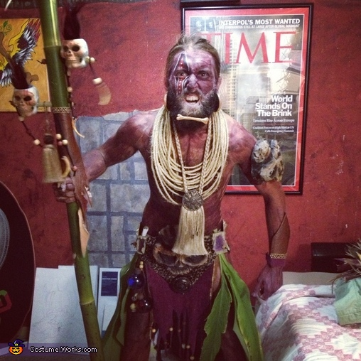 Witch Doctor Adult Costume