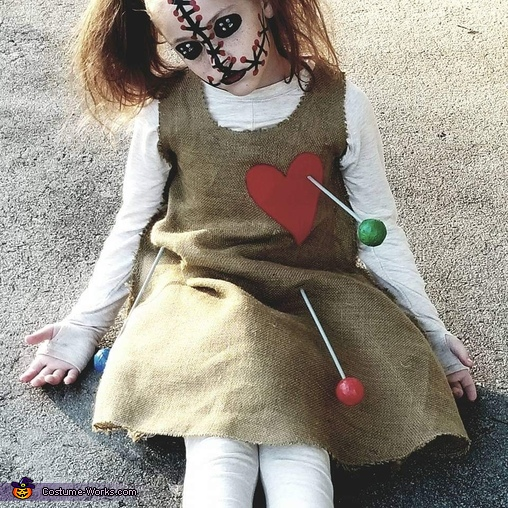 Voodoo doll, Witch Doctor and Pets Costume
