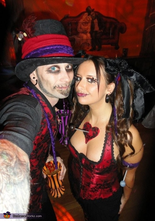 Witch Doctor and Voodoo Doll Couple Costume