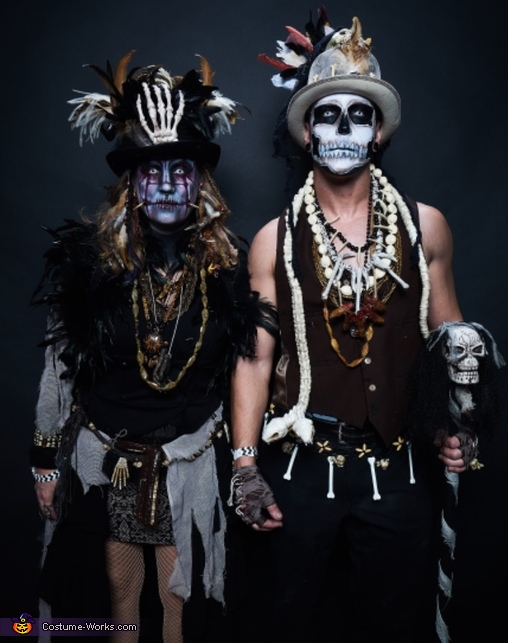 Witch Doctor photo shoot by Style group, Witch Doctors Costume