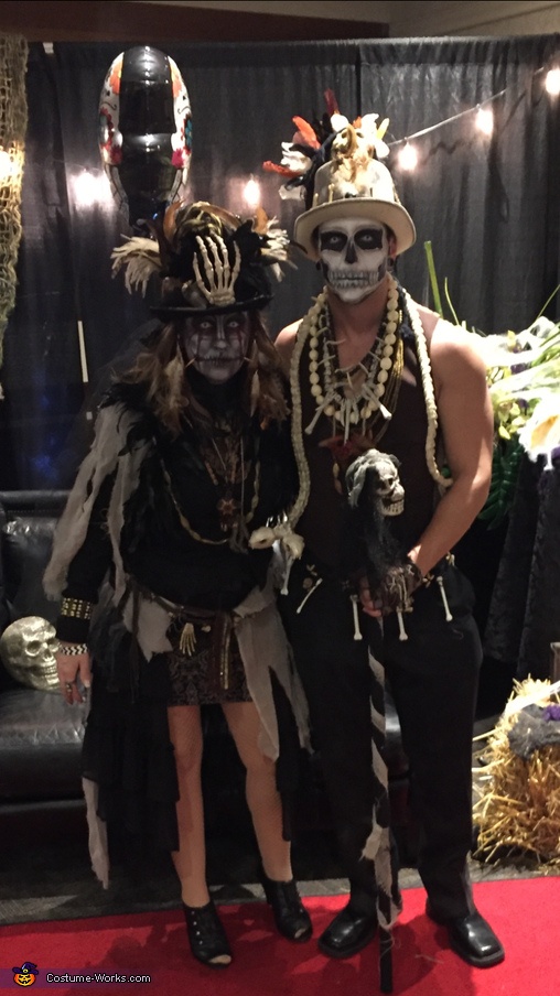 All dressed up and ready to go!, Witch Doctors Costume