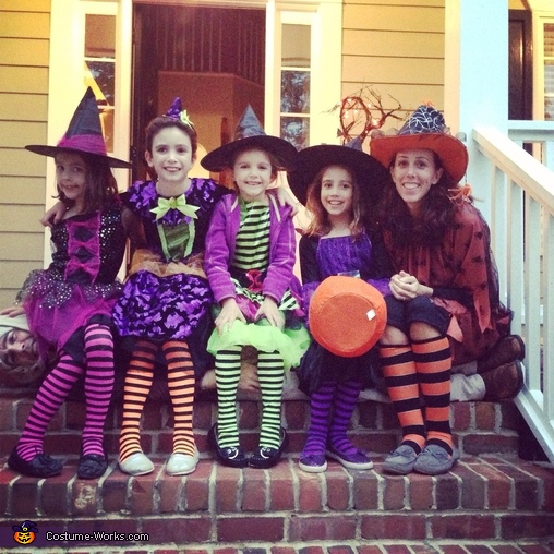 Witch Family Costume