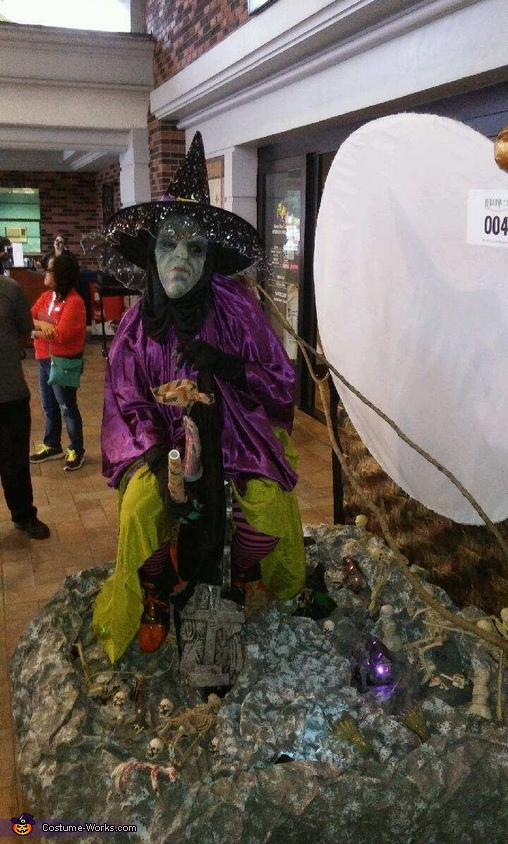 Witch over Graveyard Costume