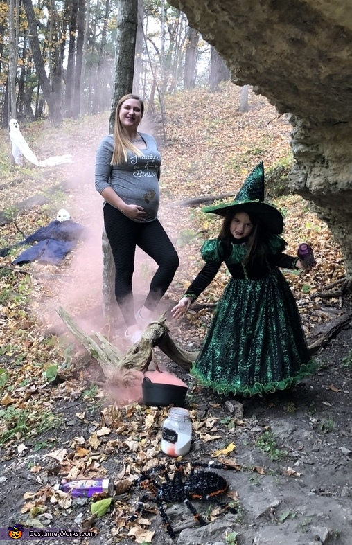 Witches Brew Baby Reveal Costume