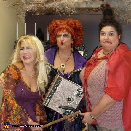 Hocus Pocus Witches Group Costume