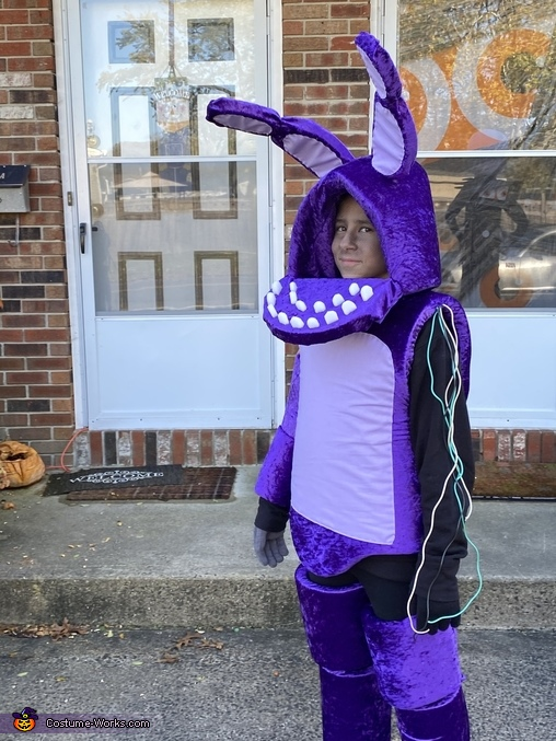 Withered Bonnie Homemade Costume