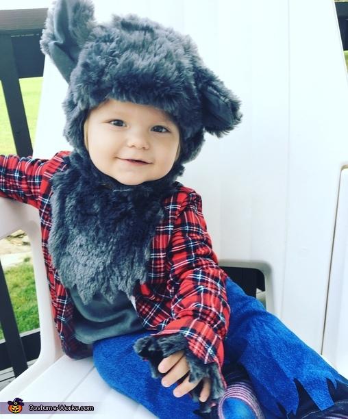 Wittle Werewolf Baby Costume