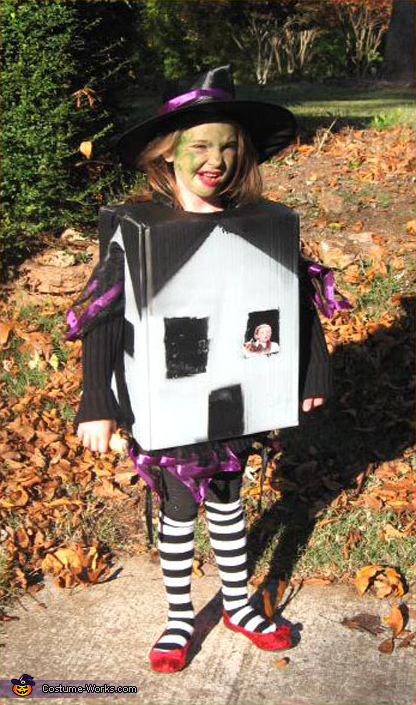 Wicked Witch of the East - Homemade costumes for girls