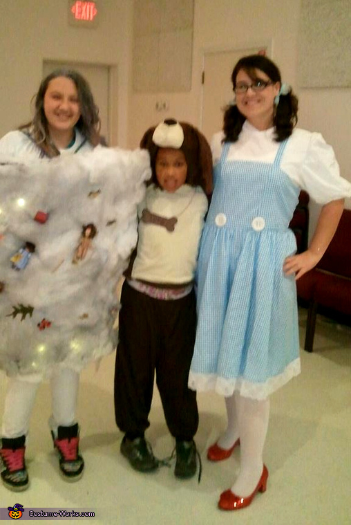 Wizard of Oz: Dorothy, Toto, and the Tornado Costumes