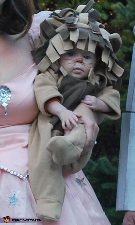 The Cowardly Lion costume, The Wizard of Oz Family Costume