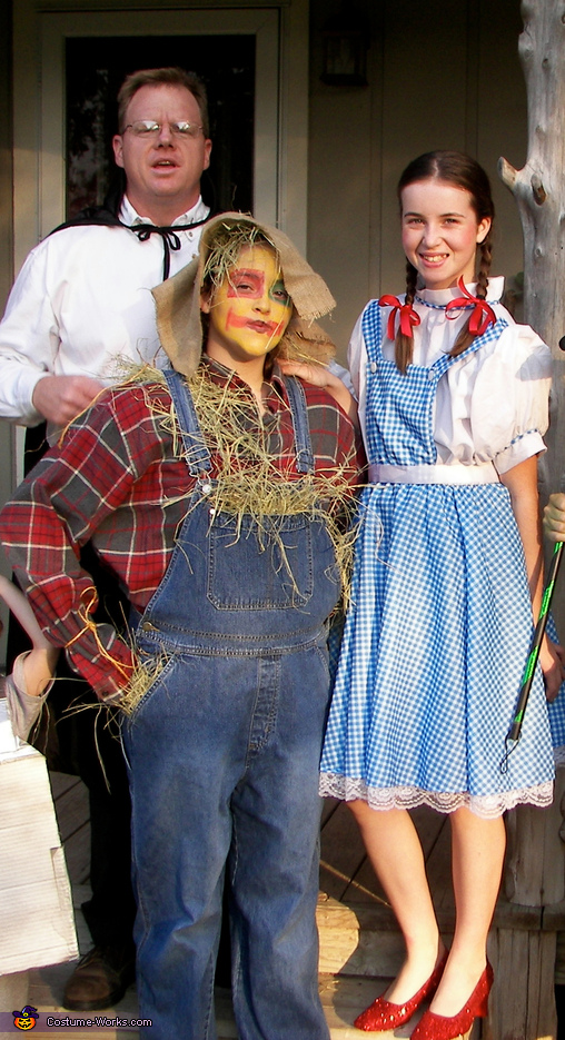 Wizard of Oz, Scarecrow and Dorothy, Wizard of Oz Costumes