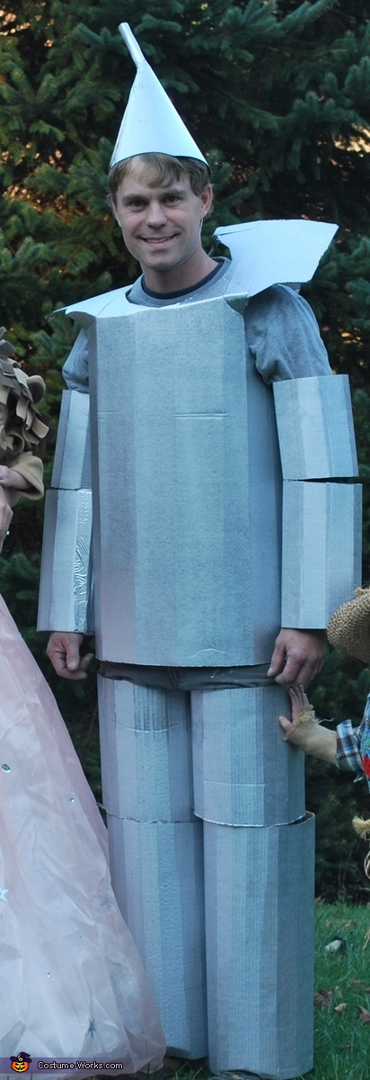 The Tin Man costume, The Wizard of Oz Family Costume