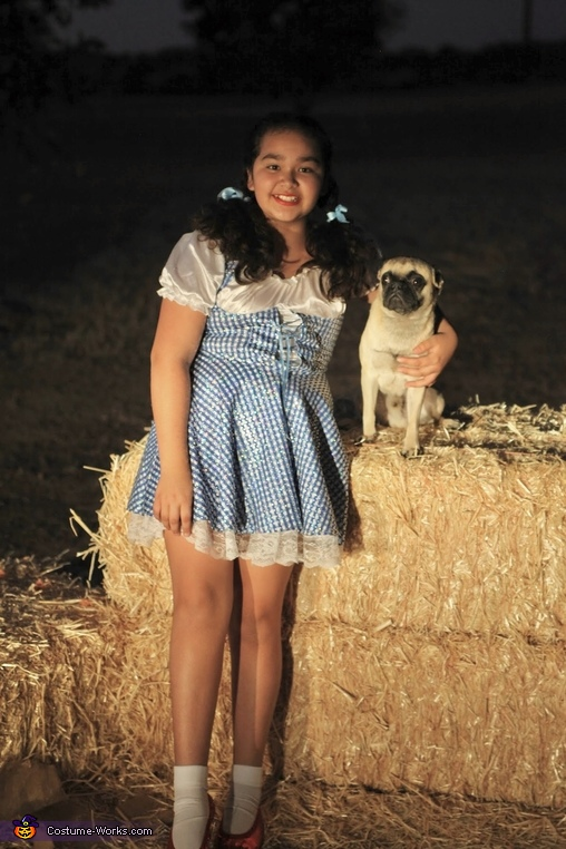 Dorothy & Toto, Wizard of Oz Costume