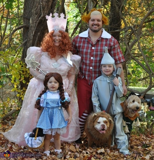 Wizard of Oz Family CostumeWizard Of Oz Homemade Costumes
