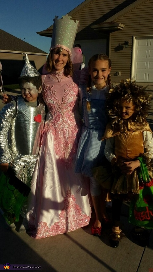 Oz siblings, Wizard of Oz Family Costume